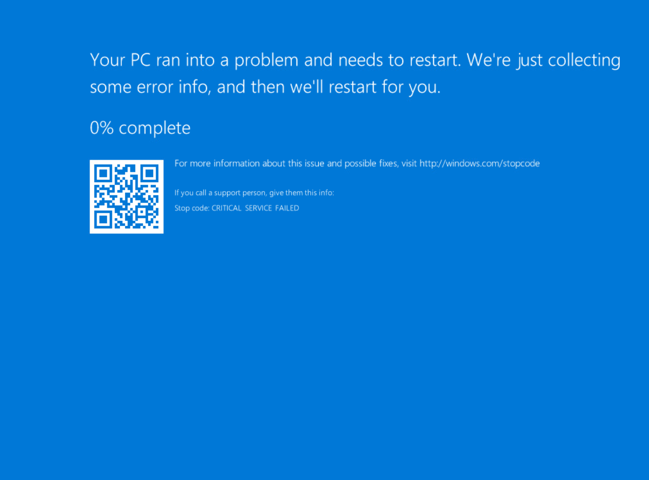 Fix Blue Screen of Death BSOD