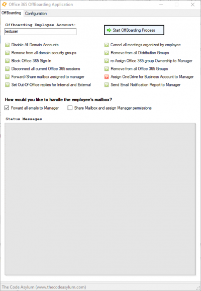 Office 365 Employee OffBoarding